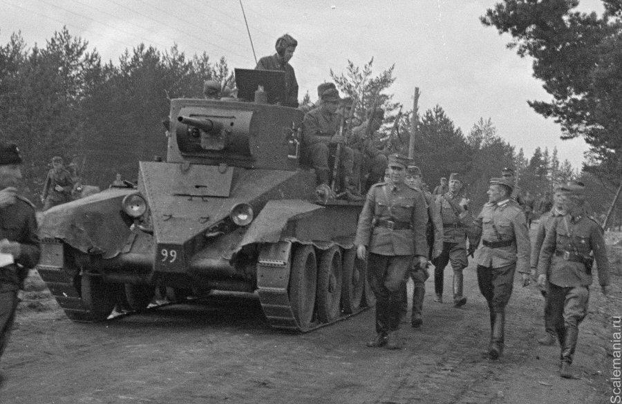 БТ-7 в финской армии
