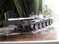 Т-62 выпуска 1962-го года с траллом КМТ-6.