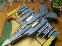 Mitsubishi F-2B (M 1:48 HASEGAWA) (ГОТОВО)