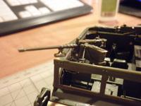 M3 Scout US Army military car Zvezda 1/35