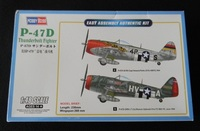 P-47D 1/48 Hobby Boss Easy Kit и афтремаркет