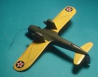 ХА-серия: Curtiss  YA-10 Shrike, 1:72, самоделка (готово)