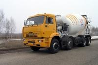 AБС-10A на шасси КамАЗ-65201-1019-60, 1:72, самоделка