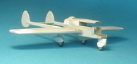 Abrams Air Craft Corporation, P-1 Explorer, 1:72, самодел
