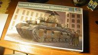 Немецкий многобашенный танк NbFz