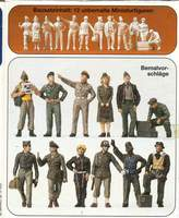 Pilots.Groud crew. U.S. Army Air Forse 1942-45. 1/48 Scale