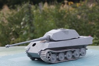 Sd.Kfz.182 KINGTIGER Porsche Turret 1/35 Dragon