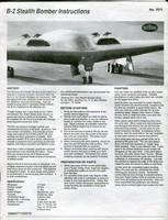Testors 1/72 B-2 Spirit