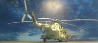 ОКБ Миля М.Л. Ми-8АМТШ, 1:72, конверсия-самоделка (готово)