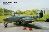 1/72/ Gloster Meteor F.1/Cyber Hobby + Eduard