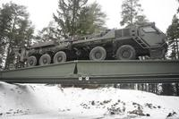 Sisu E15T 10x10 Bridge System, 1:72, самоделка