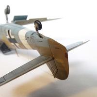 Bf 109.F-4/Z Trop (ICM, 1/48) (ГОТОВ)