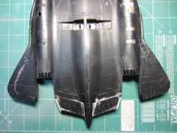SR-71A Italeri 1:72 Попытка сборки