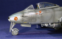 Gloster Meteor F.8 IAF 1/48 AIRFIX Готово