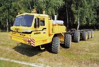 БАЗ-69099, 1:35, самоделка