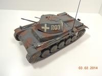 Pz.Kpfw.II Ausf.C 6.Serie/La.S.  1/35 Tamyia ×