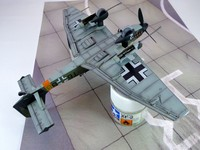 Junkers Ju-87G/ 1/72 / Academy+Aires+Экипаж+Eduard+Quickbust