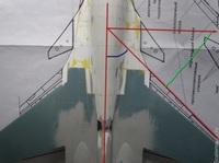 Су-34 1/48 (попытка конверсии Су-27УБ Academy)