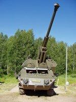 САУ 152-мм vz.77 Dana, 1:72, самоделка