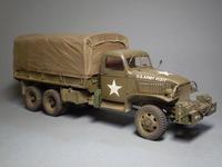 GMC 2 1 ton 6*6 truck (italeri) 1:35