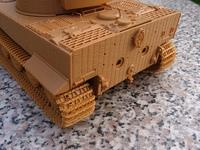 Истинный германский тяж...Т-VI Tiger (1:35 Звезда)