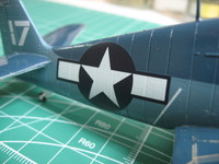 Hellcat F6F-3 Academy 1/72 + Italery 1/72 + Aires