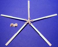 rotor and blade set MD500 1/48 частный производитель