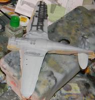 Special Hobby Breda Ba.65 1/48 стройка