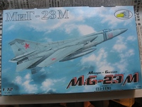 МиГ-23М,1/72,R.V.Aircraft.