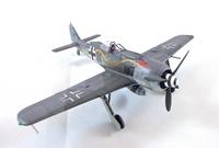1/72 Focke-wulf Fw-190A-8, Airfix +Eduard