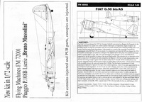 Fiat G.50 bis/AS 1/48 Flying Machines