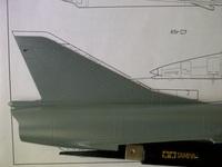 Kfir TC2 1/48 (конверсия Mirage IIIC Eduard)