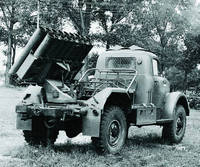 БМ-14-17 на шасси ГАЗ-63, 1:35, самоделка