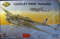 "Handley Page ""Hampden"" (Fonderie Miniature)"