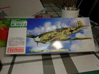 Bf-109F-2/1:72/Fine Molds+Eduard
