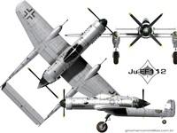 "Серия ""Штурмовики"": Junkers Ju-EF-112, 1:72, самоделка"