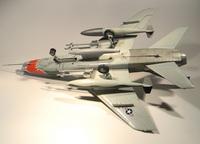 trumpeter F-100D 1/48 (мопед не мой,я только перевел декали)