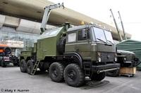 РЭМ-КЛ на шасси Урал-532362-1012, 1:72, самоделка