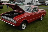 Ford Falcon 1961 года, 1:72, самоделка