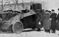 """Бронеавтомобиль """"Мгебров-Рено"""", 1:35, самоделка"""