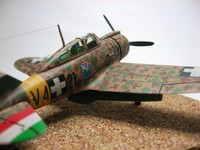 Reggiane Re.2000 GA / Italeri + BIG ED / 1/72