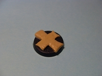 Оформление подставки для игровой миниатюры 28мм. W40k