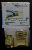 Detail model: F-15 electronic set
