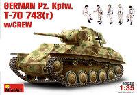 Panzerkampfwagen T-70 743(r) 1/35 MiniArt