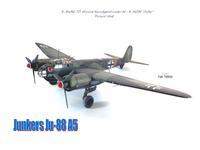 Junkers Ju-88 A5/1:72/Zvezda+Eduard+Aires