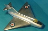 Boulton-Paul P.120, 1:72, самоделка (готово)