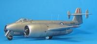Gloster Meteor F.Mk.4 Nene RA490, 1:72, конверсия (готово)