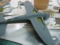 Thunderbolt P47D-25 1/72 / Academy+Aires