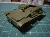 """九四式軽装甲車後期改修型 (Type 94 """"TK"""" Late) 1/35 FainMolds"""