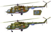Ми-8МТ (Hobbyboss + Звезда + афтермаркет)